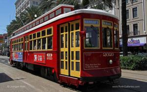 Historic New Orleans Canal Streetcar