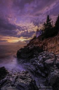 Bass Harbor Light Accepted into the Prestigious Fine Art Exhibition The National
