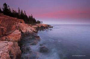 Long Exposure Photography at Maine Acadia National Park