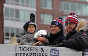 Images from the New England Patriots Parade in Boston