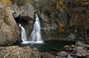 Photo of the Week Artwork Sale of Massachusetts Bash Bish Waterfalls in Fall
