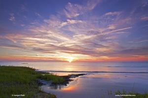 Experience Cape Cod Bay Sunset at Day Ends