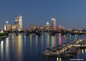 Boston City Skyline Photography