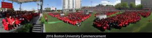 2016 Boston University Commencement Gigapan Photography Image