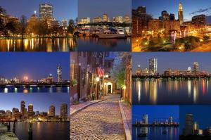 Examples of Magical Boston Skyline Photography Art