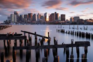 Behind the Photography Image of a Boston Skyline Favorite