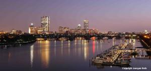 Boston Skyline Photography