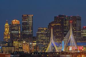 Boston Nightlight - Latest Boston Skyline Photography from the Hub