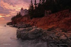 Story and Technique Behind the Image of Bass Harbor Head Light in Maine Acadia National Park