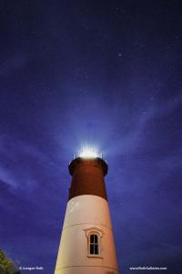 You Shine Like A Star - Nauset Light Night Photography
